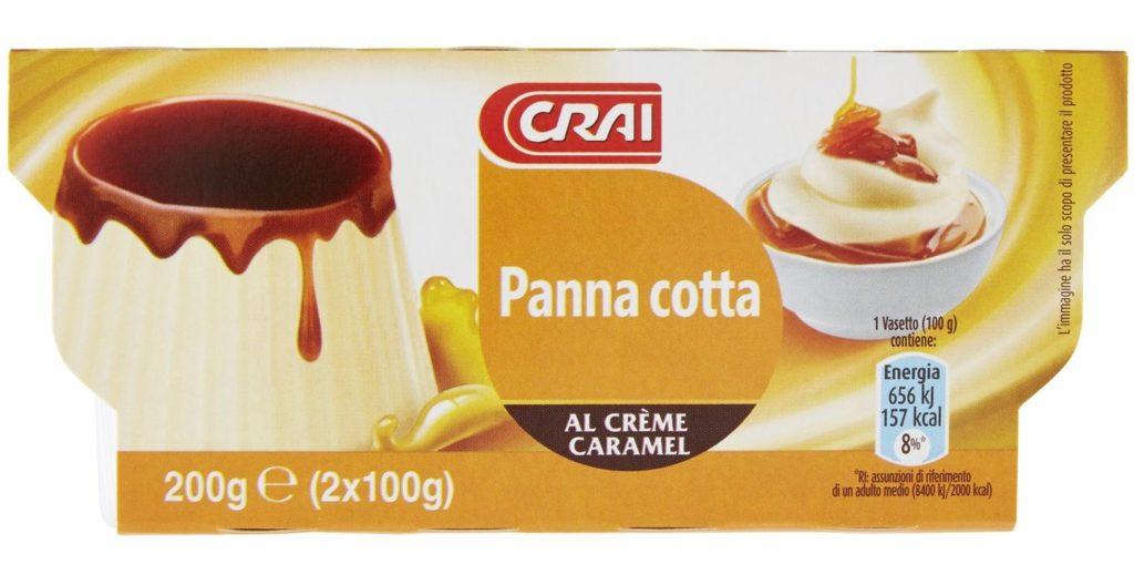 Crai Panna cotta Al Crème Caramel 2 x 100 g