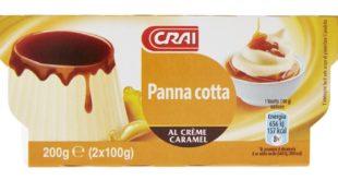 Crai Panna cotta Al Creme Caramel 2 x 100 g