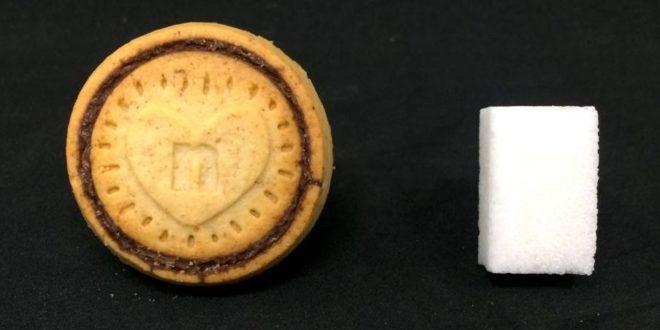Quanto zucchero c'è nei Nutella Biscuits? Ogni biscotto ne contiene una zolletta