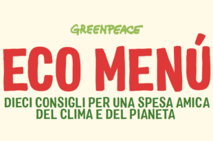 eco menu Greenpeace