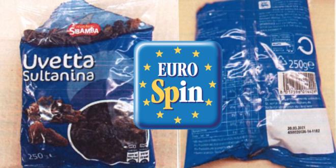 eurospin uvetta sultanina mister sibamba
