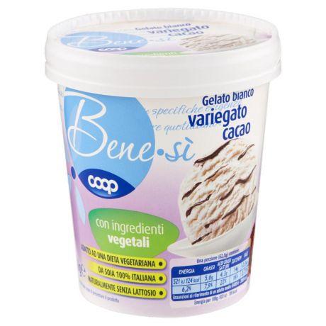 gelato vegetale variegato cioccolato coop benesi