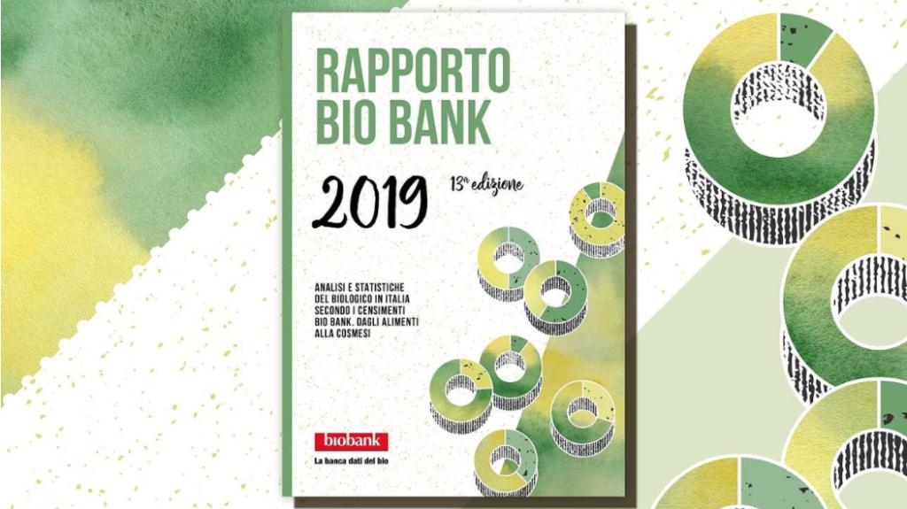 rapporto bio bank 2019 edizione 13 biologico