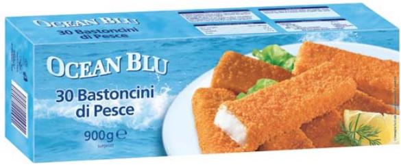 bastoncini pesce ocean blue