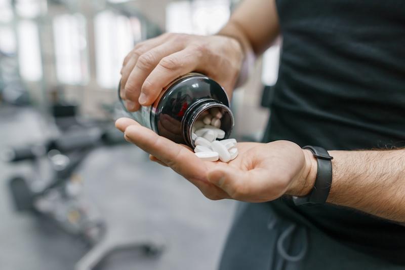 integratori pastiglie capsule sport
