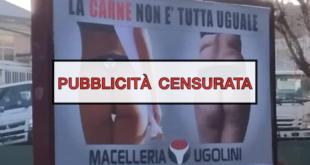 censura iap cartellone pubblicita sessista macelleria ugolini