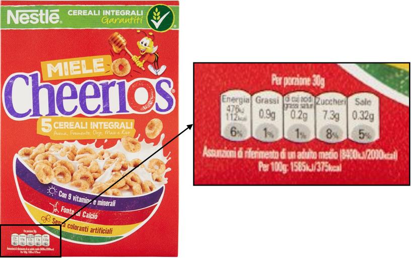 gda logo cereali cheerios