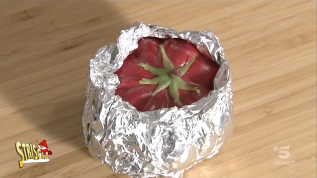 striscia la notizia alluminio pomodoro