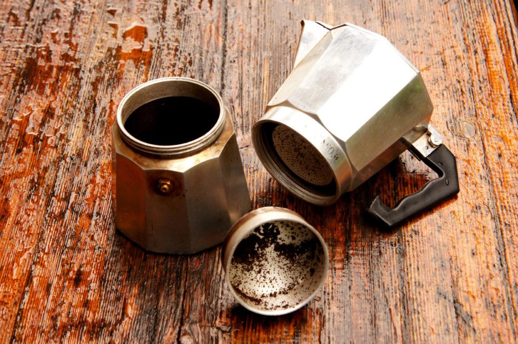 moka caffè alluminio
