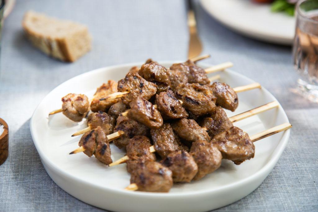 carne coltivata spiedini anatra memphis meat