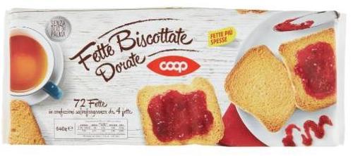 Fette biscottate coop