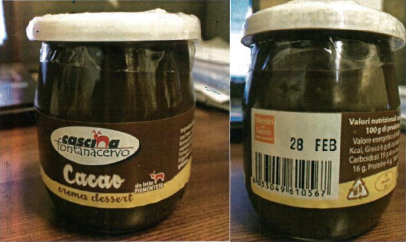 richiamo crema dessert cacao cascina fontanacervo