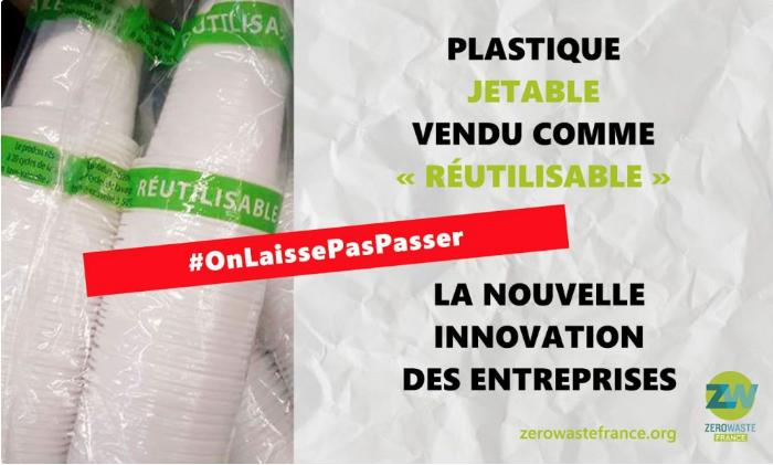 stoviglie plastica monouso zero waste france