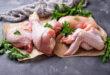 pollo alimenti crudi