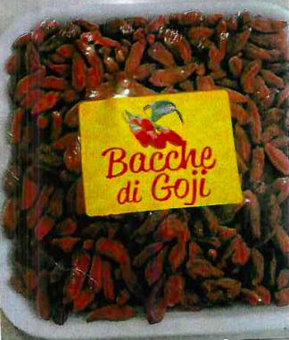 bacche di goji vassoio mainardi nicola