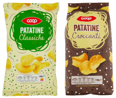 coop patatine