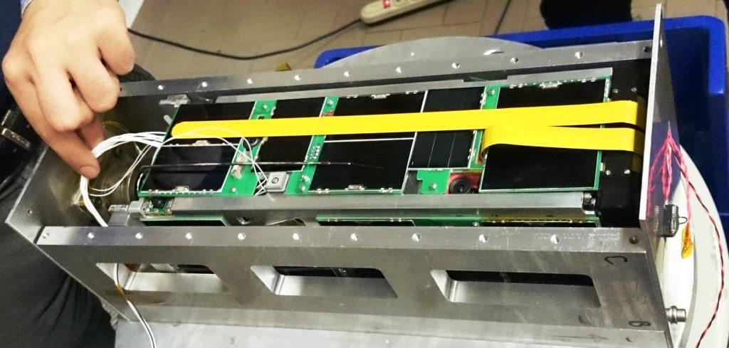 Greencube satellite 3U