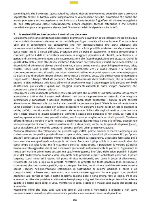 linee guida italiane