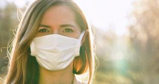 máscara covídeo de coronavírus