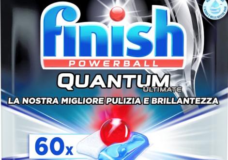 O Júri censura a publicidade do detergente para máquina de lavar louça Finish 14