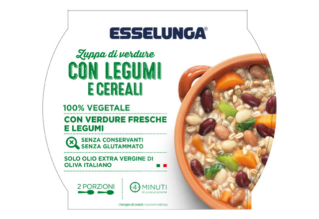 zuppa verdure legumi cereali esselunga
