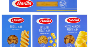 barilla pasta formati classici 100% italiani