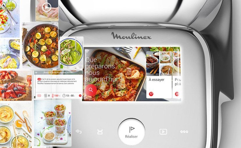 moulinex i-companion touch xl touchscreen ricette