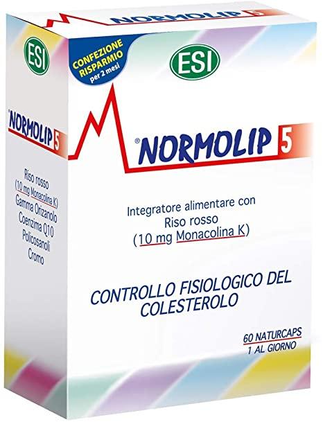 normolip 5 integratore alimentare