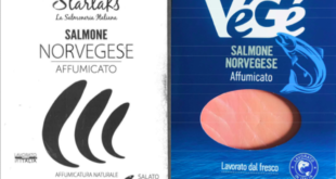 richiamo salmone norvegese affumicato starlaks vege