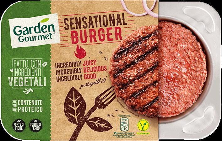 sensational burger garden gourmet