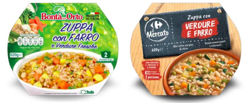 zuppa farro verdure bontà dell'orto carrefour