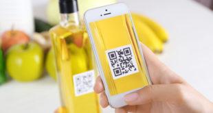 etichetta qr code smartphone