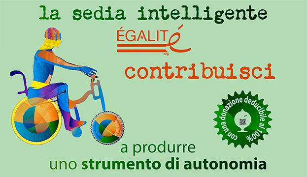 smart wheelchair dario dongo Sedia Intelligente