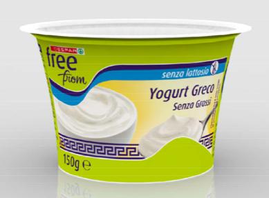 yogurt greco senza grassi senza lattosio despar