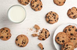 biscotti cookies colazione latte
