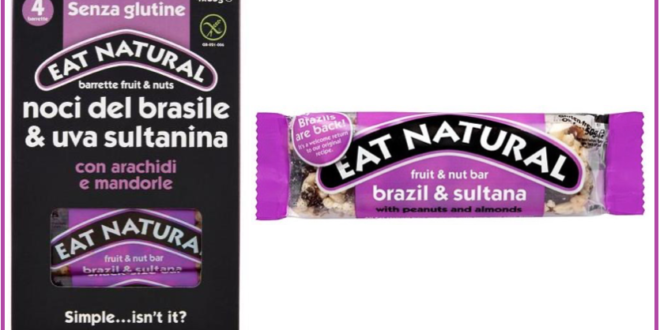 richiamo barrette eat natural