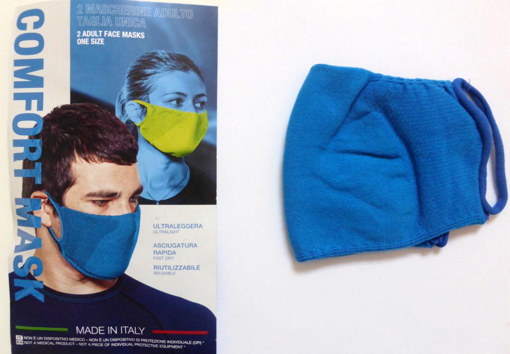 FACE MASKS _ AREAS (DECATHLON) _ comfort mask ITA