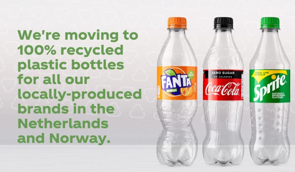 coca-cola fanta sprite rpet norvegia paesi bassi
