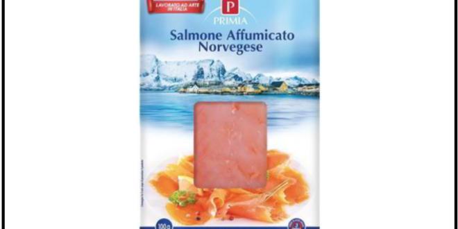 richiamo salmone norvegese affumicato primia