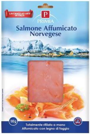 salmão defumado norueguês primia