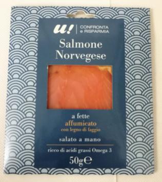 unes salmone norvegese affumicato 50