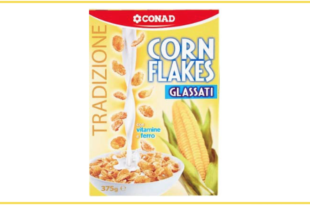 richiamo corn flakes glassati conad