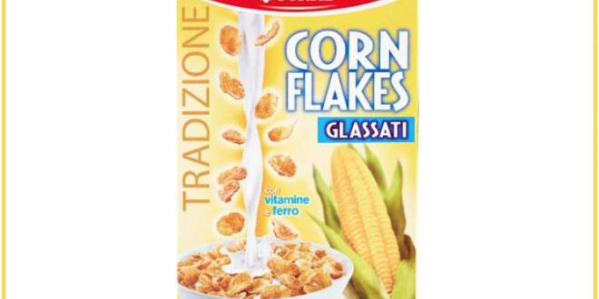 richiamo corn flakes glassati conad