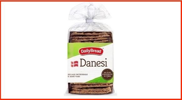 danesi daily bread richiamo