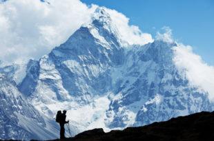 alpinista montagna