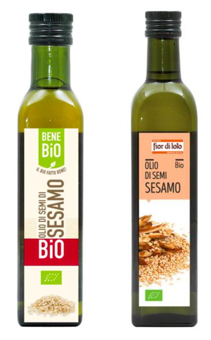 olio di semi di sesamo bene bio fior di loto
