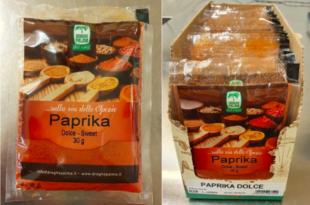 paprika dolce droghe palma