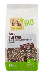 Cartello richiamo mix per pane VNAT Bio Conad.d