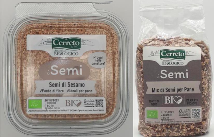 semi di sesamo mix pane cerreto bio