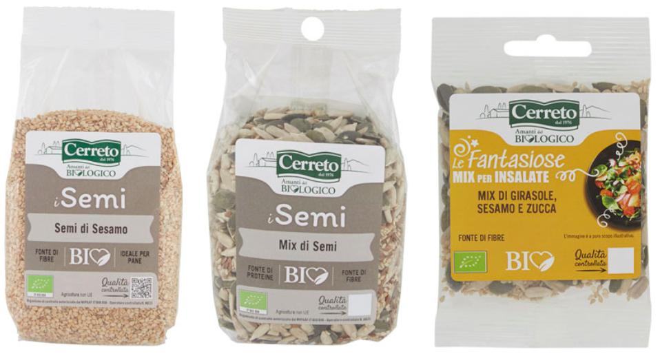 semi di sesamo mix semi cerreto amanti del biologico